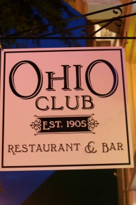Ohio Club in Hot Spring Arkansas - a place where Harley riders love to hang out.