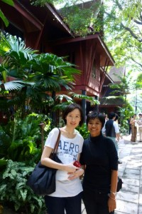with Yui in Jim Thompson House