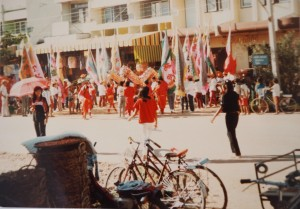 Chinese annual festival two decades ago in Thailand