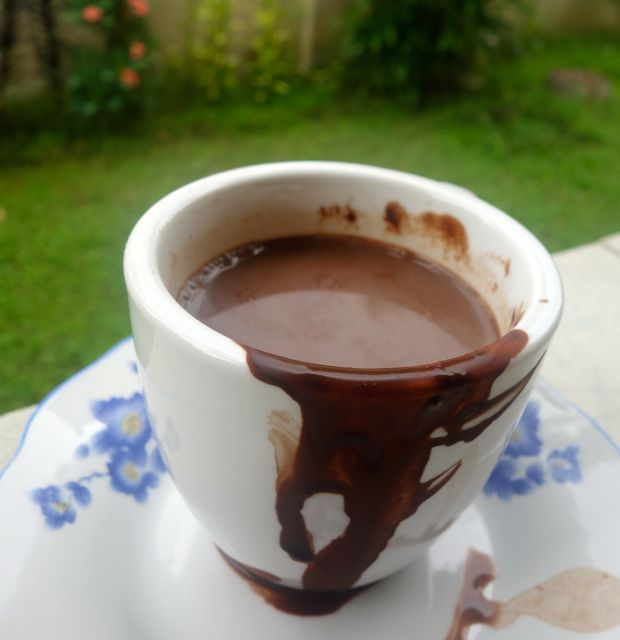 experiment with hot chocolate