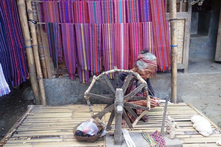 she's maybe the oldest woman in Sade Village.