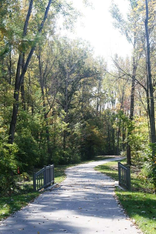 a quiet greenway i'm wishing about