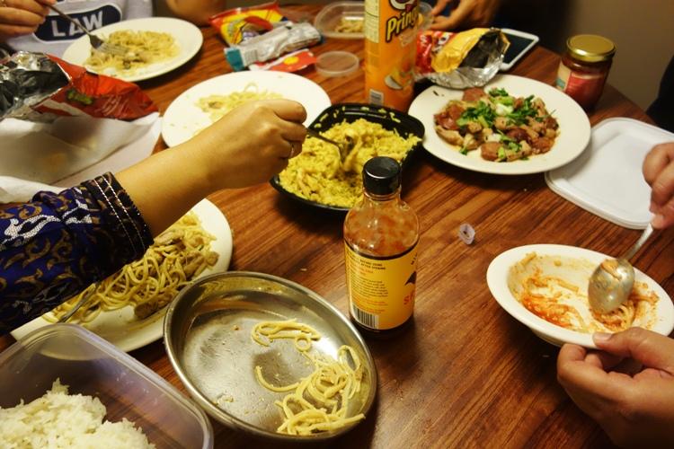 nasi goreng Asian Cafe is among other menu