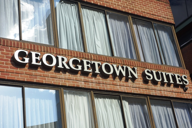 our great accomodation, Georgetown Suite!!!