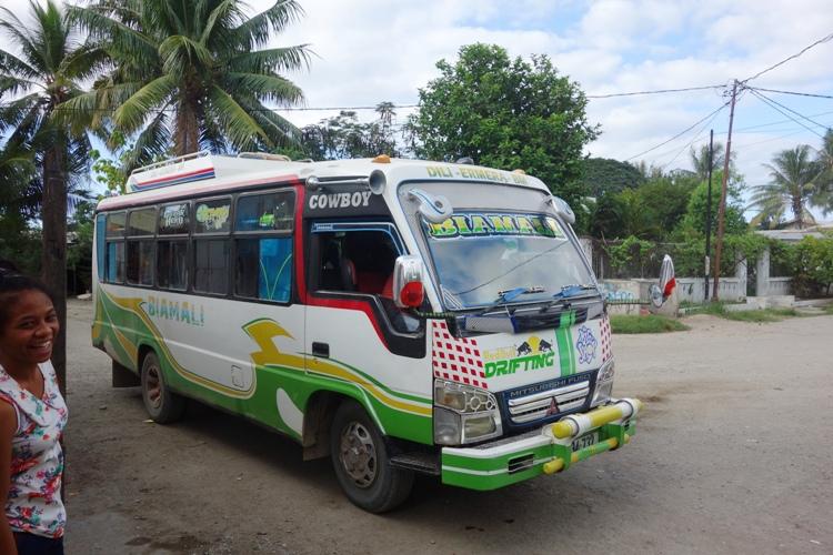 bis antar kota di Timor Leste